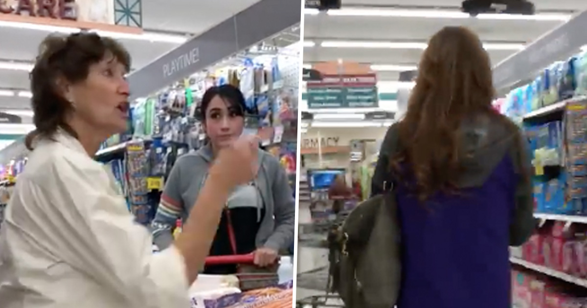 Racist shopper gets owned!