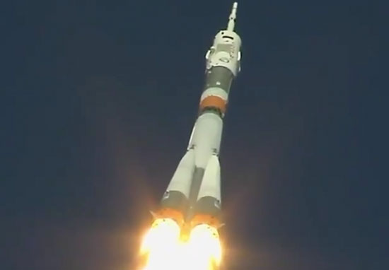 Soyuz rocket emergency landing