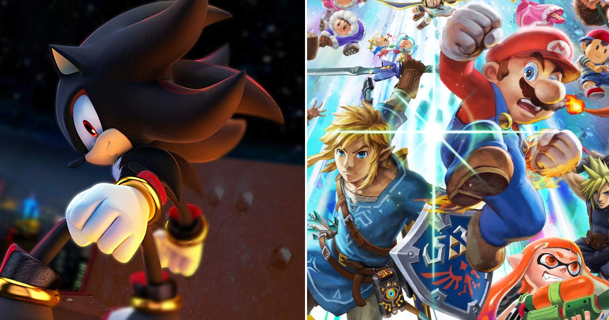 Leaked Smash Bros Roster Reveals Shadow, Banjo Kazooie, And More