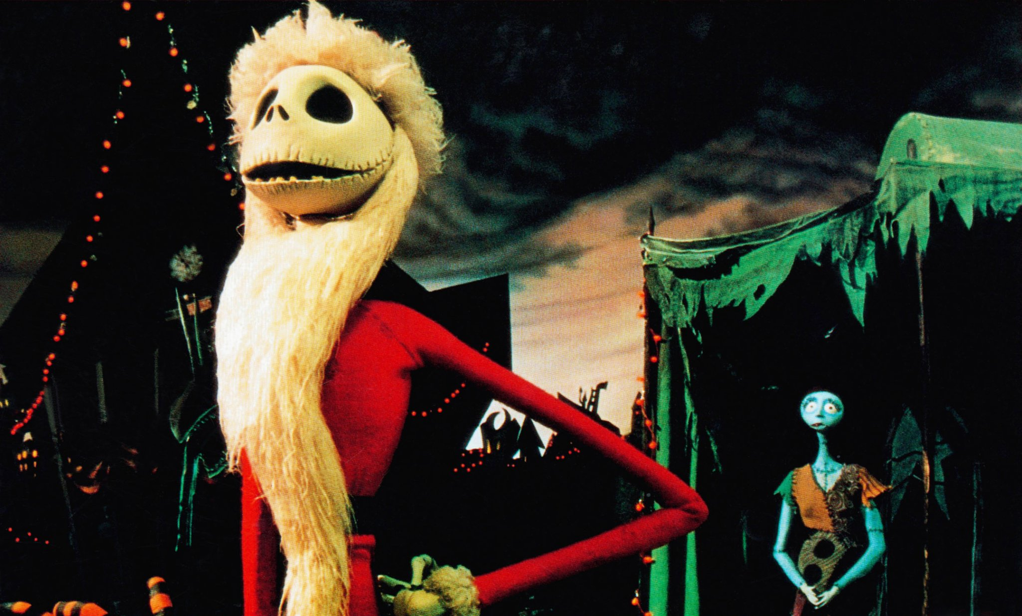The Nightmare Before Christmas Santa