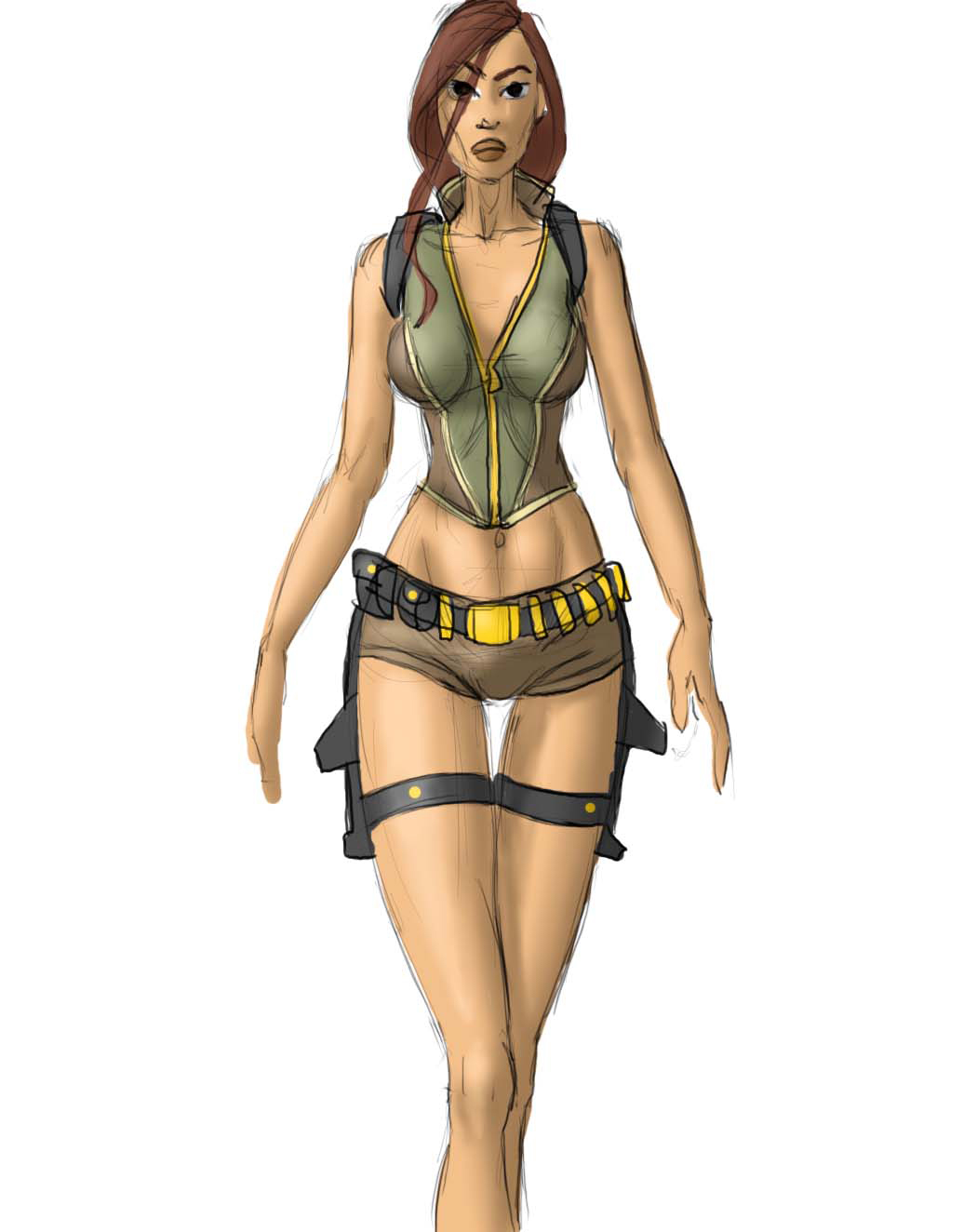 lara croft exploration tomb raider legend outfit