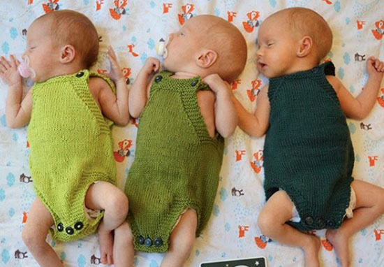 mum who gave birth to triplets gets real about post baby body