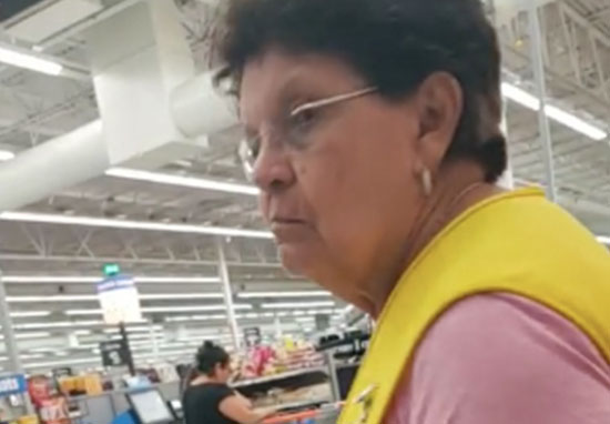 Walmart employee tells customer to speak English
