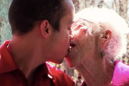 31-year-old man has a 91-year-old girlfriend.