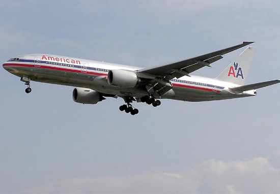 American Airlines flight