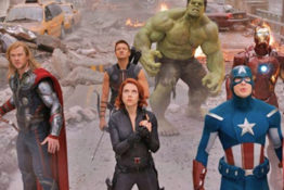 The Avengers pay tribute to Stan Lee.