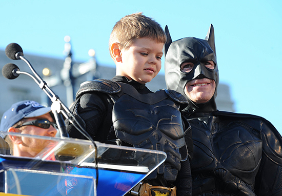 Batkid Cleared Of Cancer