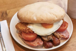 Morrisons are now selling huge breakfast butties.