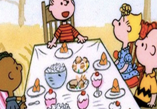Some people are finding the Charlie Brown thanksgiving episode to be racist.