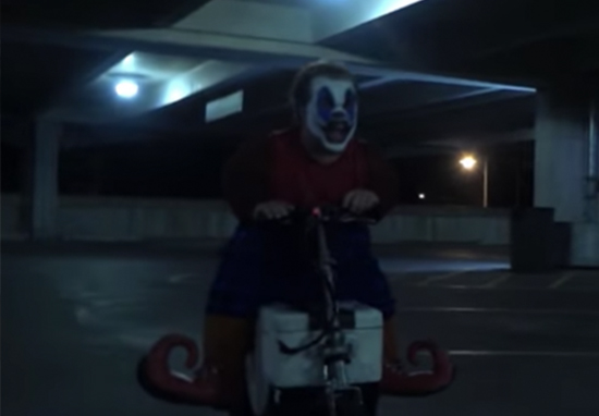 Clownado trailer has landed