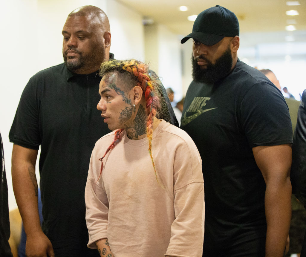 Tekashi69 bodyguards