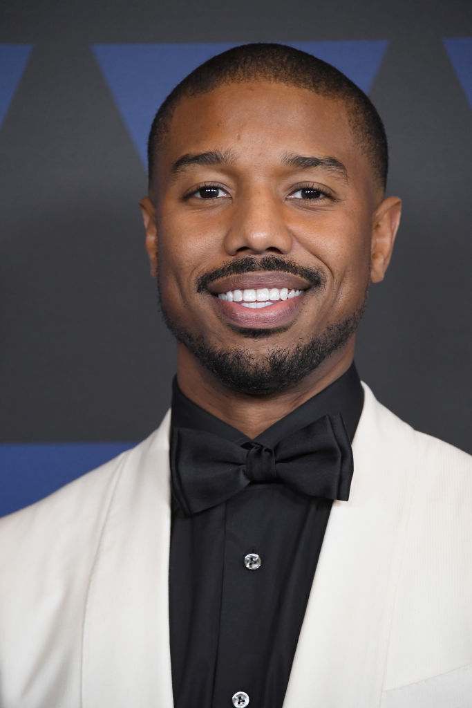 Michael B Jordan award ceremony