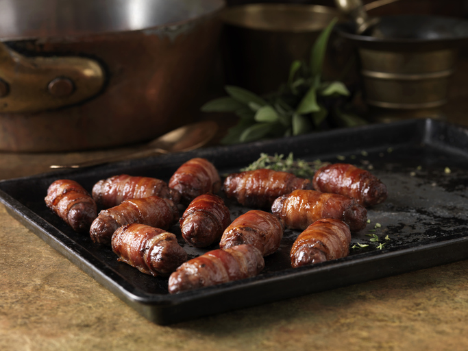 pigs in blankets oven