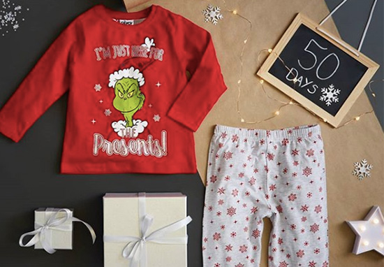 shop for original newest style 50% price Primark Launches The Grinch Themed Nightwear Range