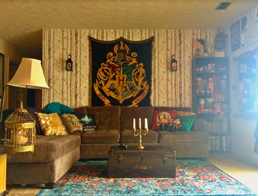 harry potter living room