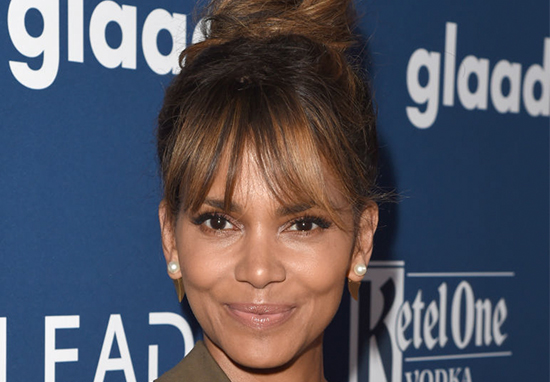 American Quarterback Hits on Halle Berry