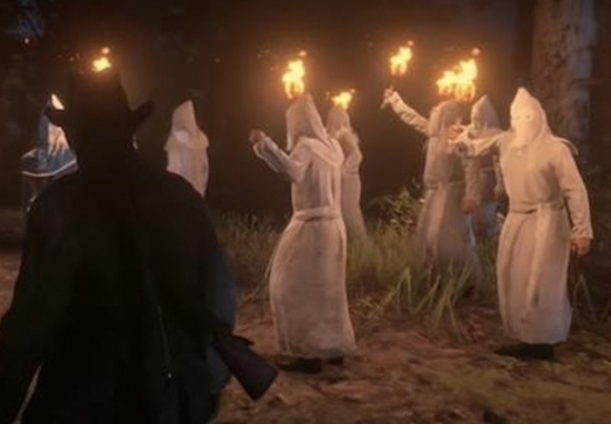 Red Dead Redemption 2 won't lower your morality points for shooting KKK members.