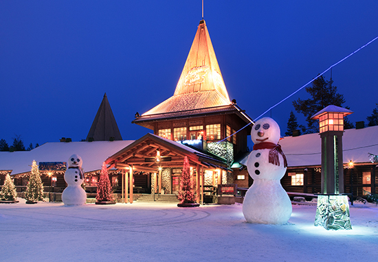 Lapland at Christmas