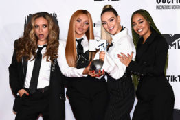 Little Mix at award ceremony