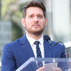 Michael Bublé Tears Up As He Accepts Star On Hollywood Walk Of Fame