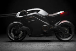 Electric motorcycle believed to be the most advanced bike ever made.