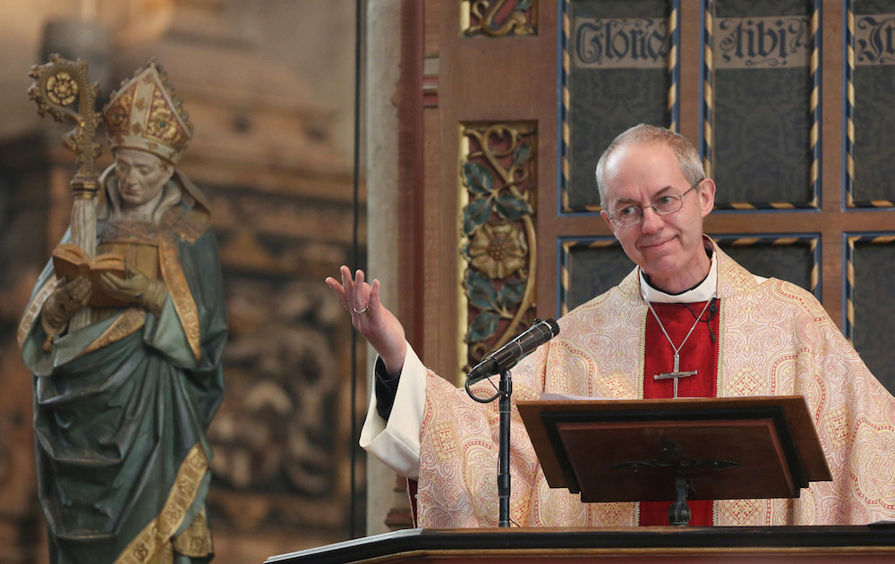 The Archbishop of Canterbury says there's a gender neutral god