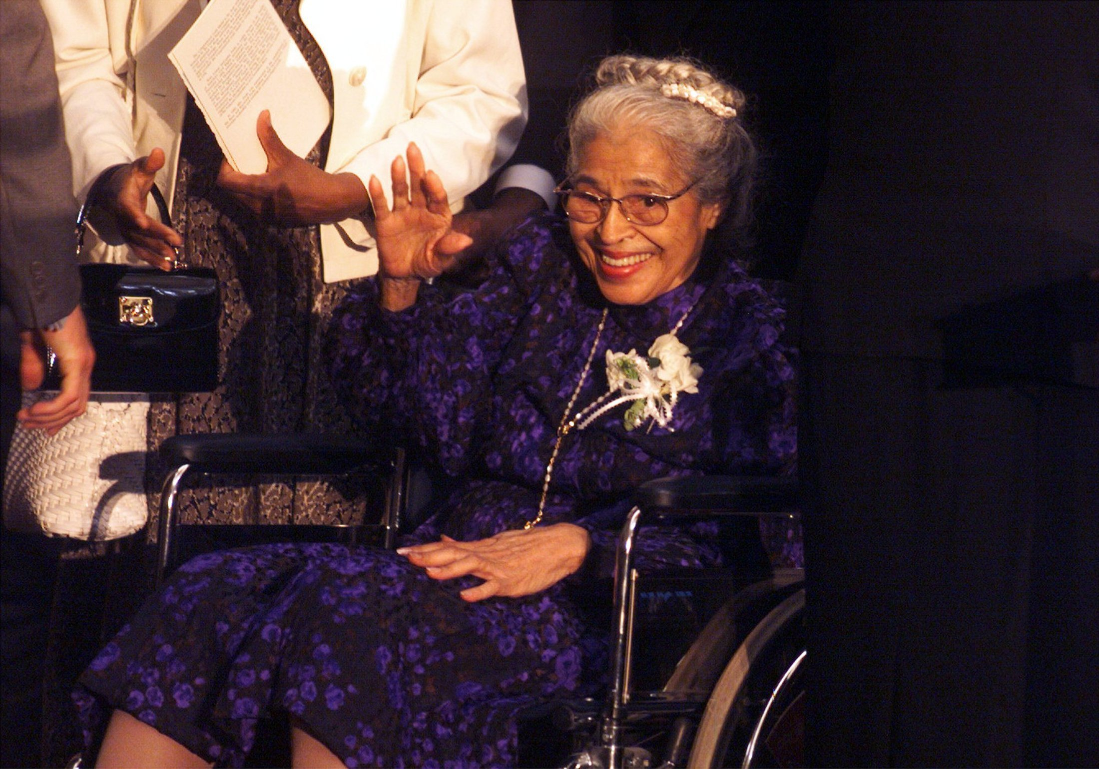 Rosa Parks wheelchair