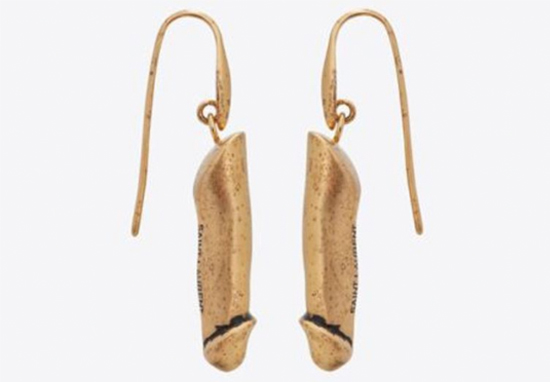 penis earrings YSL