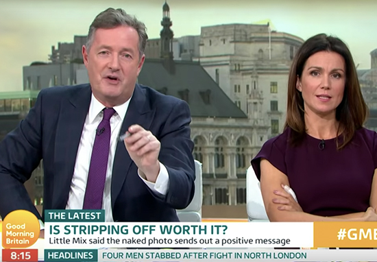 Piers Morgan says Little Mix Use Sex To Sell Albums