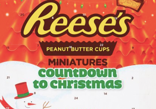 You can now buy a Reese's advent calendar.