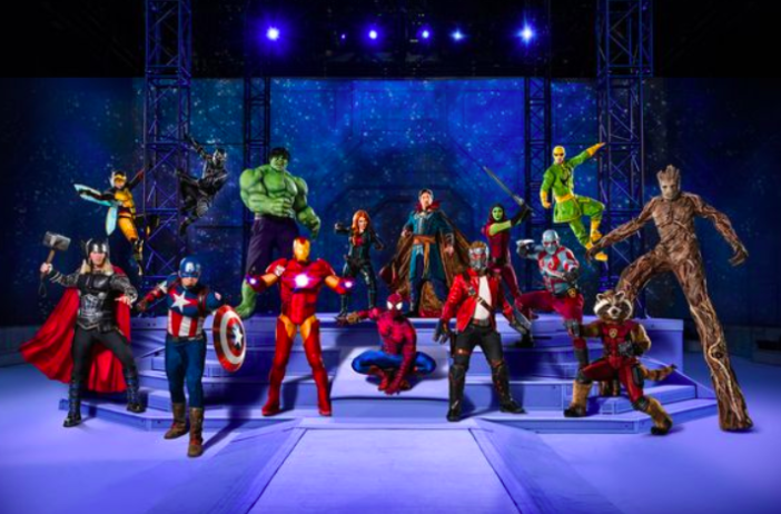 Marvel Universe Live! UK shows are coming.