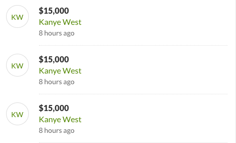 Kanye West donates money to family of dead security guard