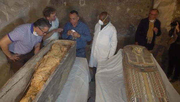 Ancient tomb discovered in Egypt.