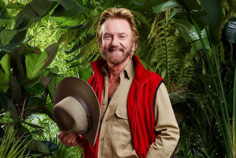 Noel Edmonds in the jungle!