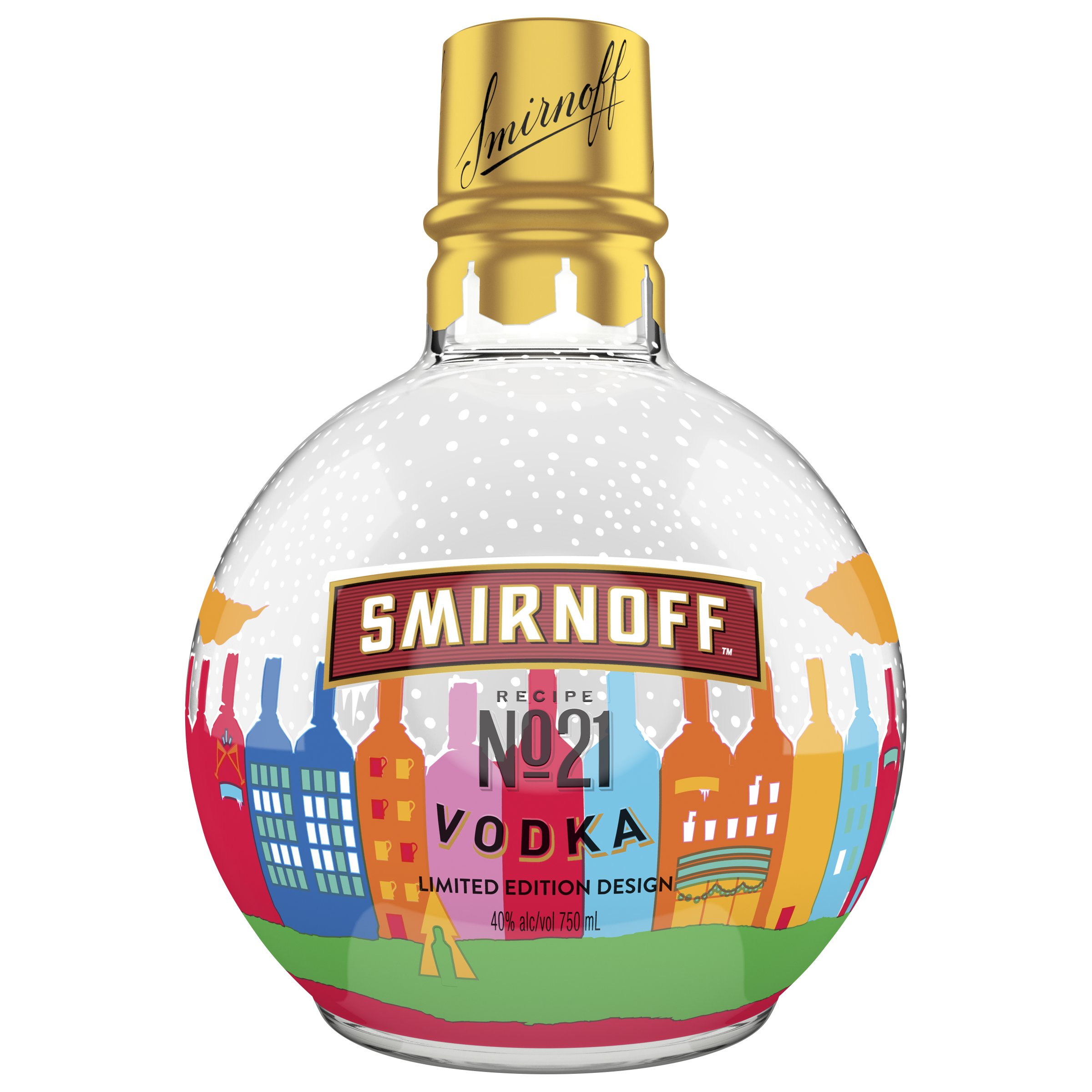 Smirnoff Release Vodka Baubles