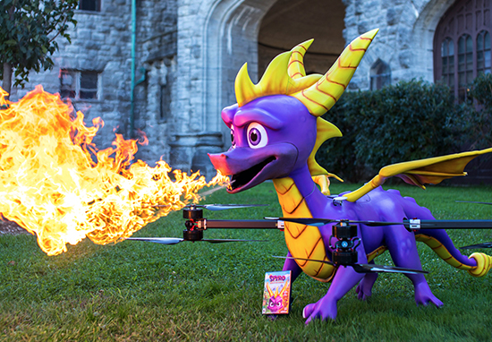 Spyro the Dragon Drone