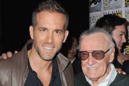 Stan Lee and Ryan Reynolds.