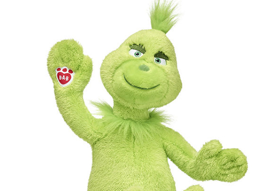 Build-A-Bear Launches Grinch Teddy