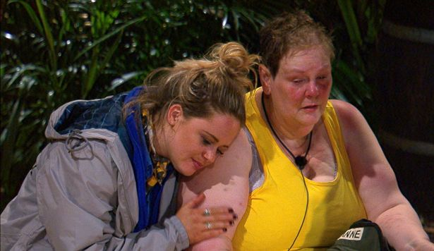 Anne Hegerty breaks down on I'm A Celeb