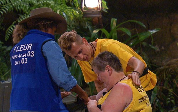 Anne Hegerty breaks down on I'm A Celebrity