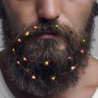 You Can Now Get Christmas Fairy Lights For Beards