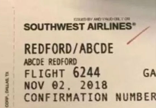 Airline apologises after mocking passenger's name