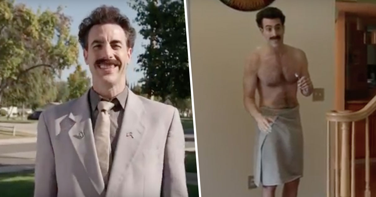 Sacha Baron Cohen Brings Back Borat To Troll US Election