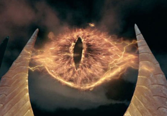 eye of sauron Lord of the rings