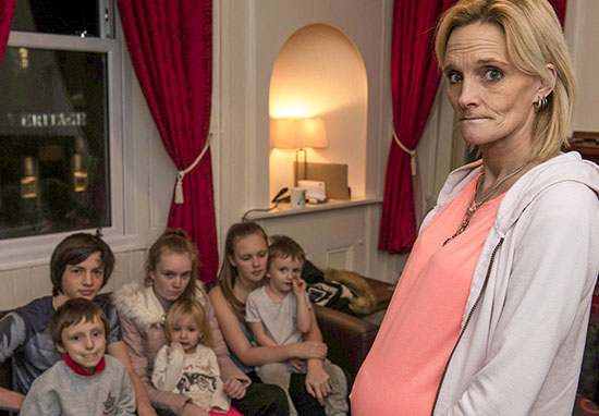 Mum of seven wants new council house