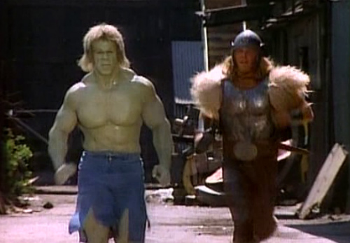 Thor and the Hulk