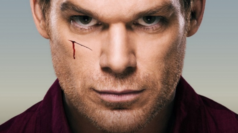 Dexter cut face