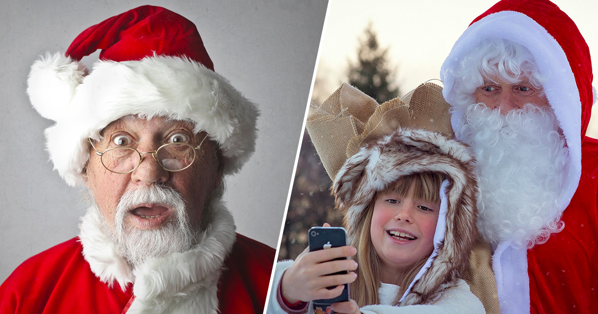 Should kids believe Santas real