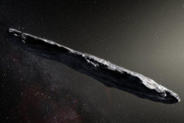 Cigar-shaped object could be sent by aliens