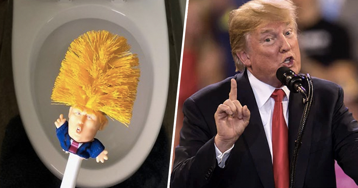 You Can Now Buy A Donald Trump Toilet Brush